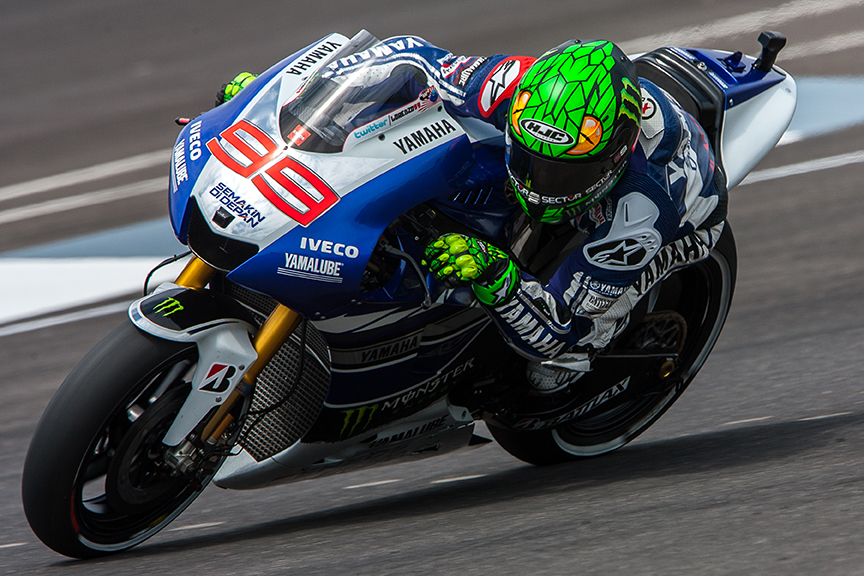 Jorge lorenzo back on the podium for the first time since catalunya 2013 motogp r10 indianapolis usa voltagebd Images
