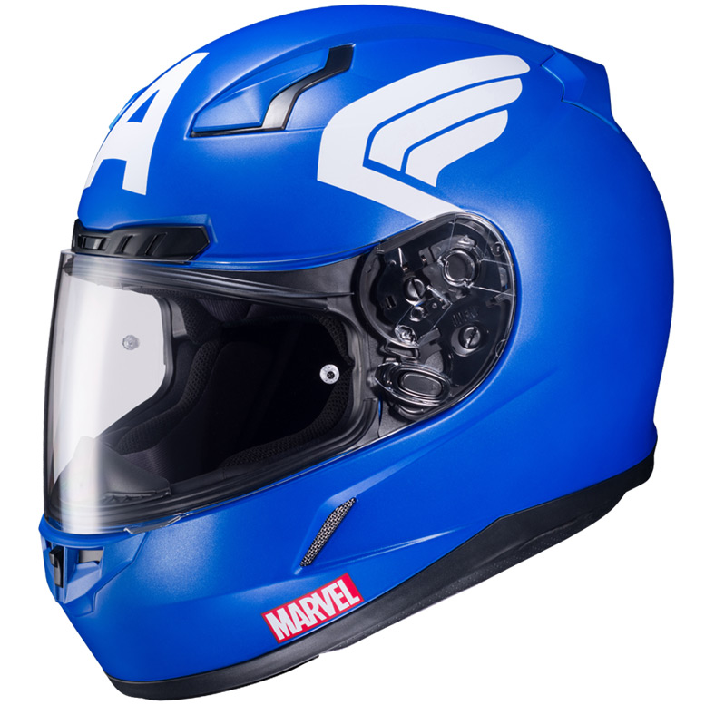 Hjc S Officially Licensed Marvel Graphic Helmets Hjc