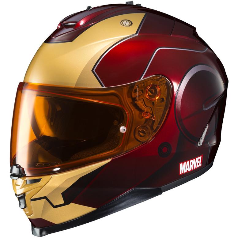 Auto Racing Helmets >> HJC'S OFFICIALLY LICENSED MARVEL GRAPHIC HELMETS   HJC ...